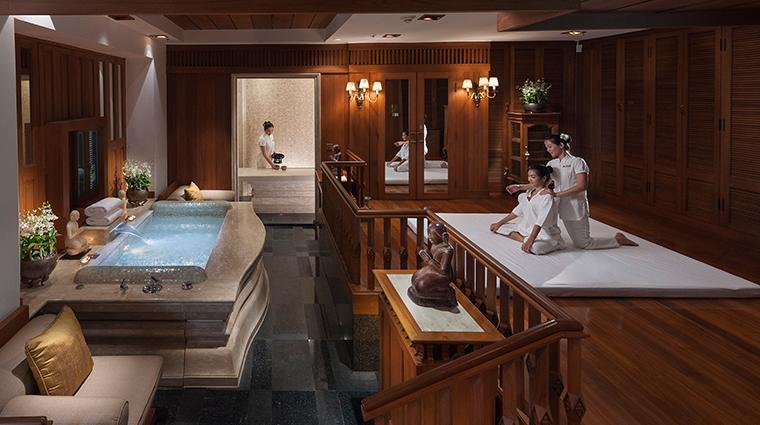 mandarin oriental bangkok spa suite
