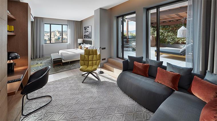 mandarin oriental barcelona penthouse master bedroom