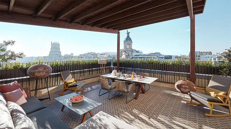 mandarin oriental barcelona penthouse terrace