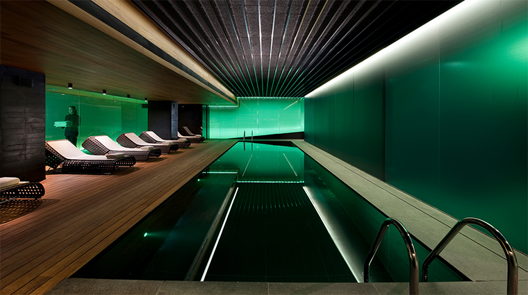 mandarin oriental barcelona spa pool