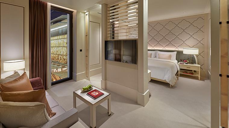 mandarin oriental doha Barahat view suite