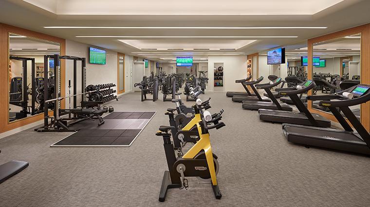 mandarin oriental doha spa gym