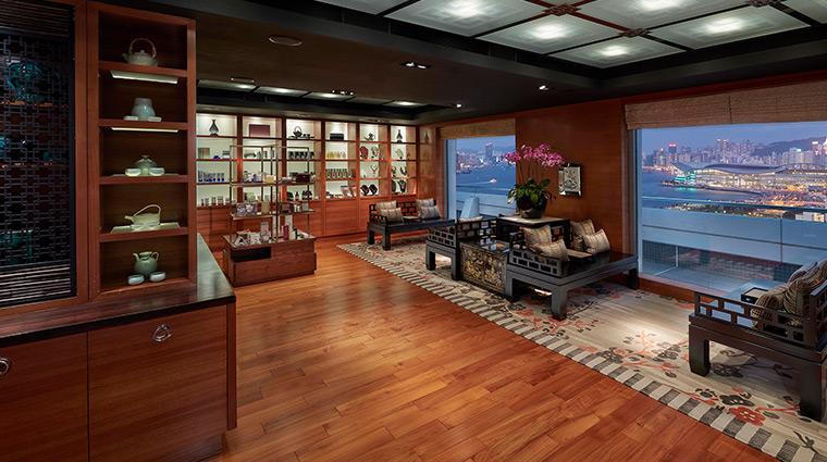 Mandarin Oriental Hong Kong Hotel Spa Reception