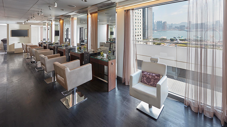 Mandarin Oriental Hong Kong Hotel Spa The Mandarin Salon View