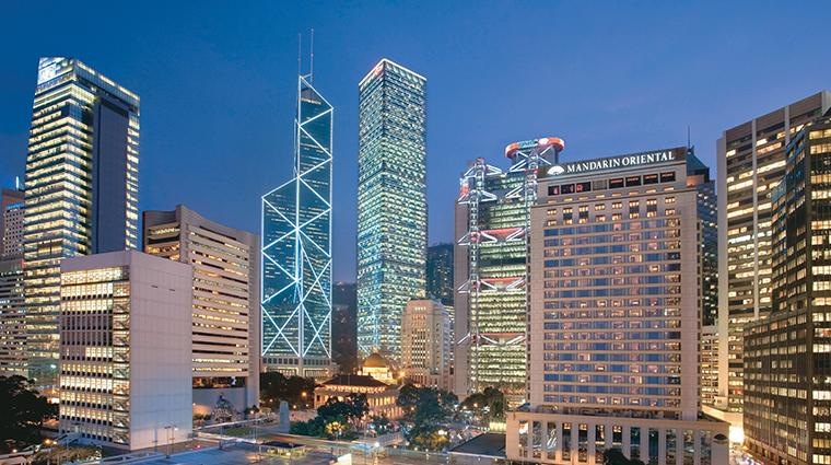 mandarin oriental hong kong exterior