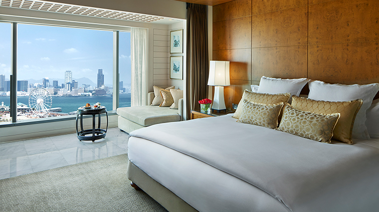 mandarin oriental hong kong harbour view room