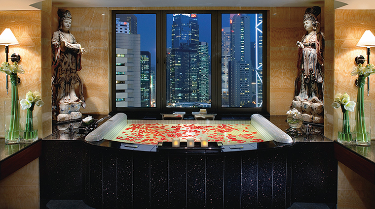 mandarin oriental hong kong presidential suite bathroom