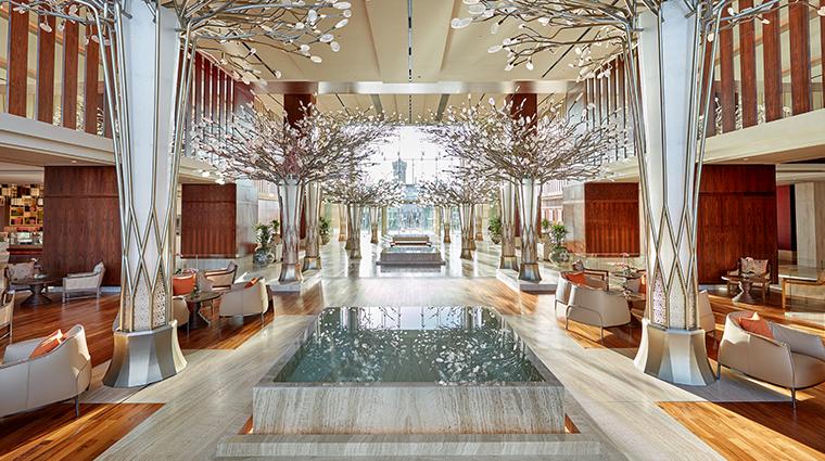 mandarin oriental jumeria beach dubai lobby