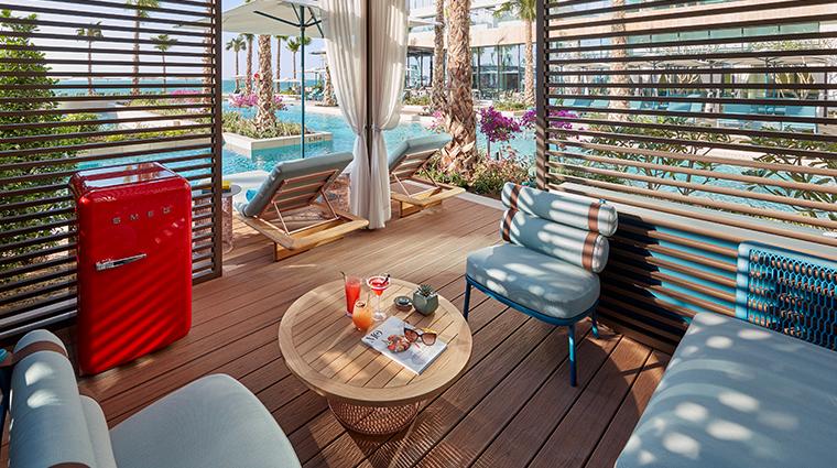 mandarin oriental jumeria beach dubai pool cabana