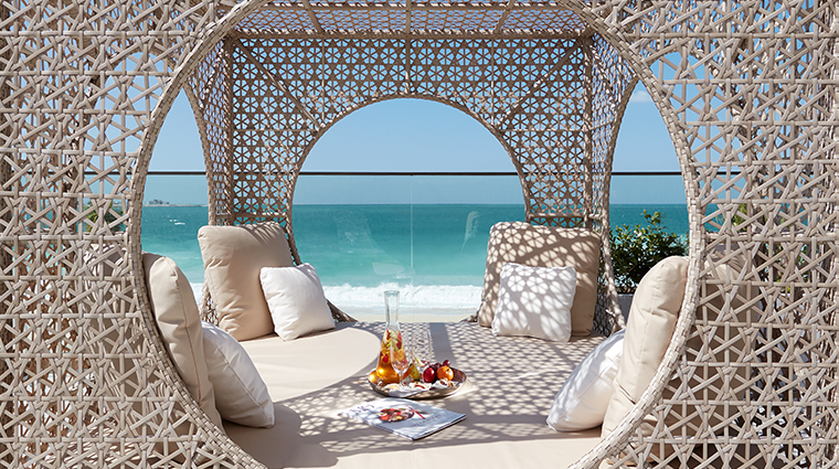 mandarin oriental jumeria beach dubai spa day bed