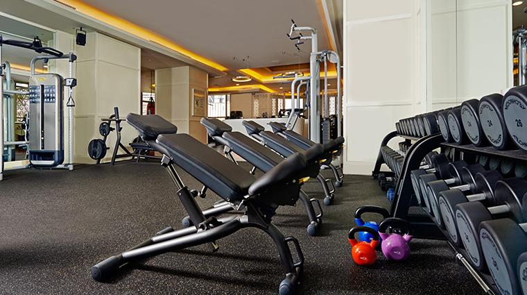 mandarin oriental kuala lumpur fitness center