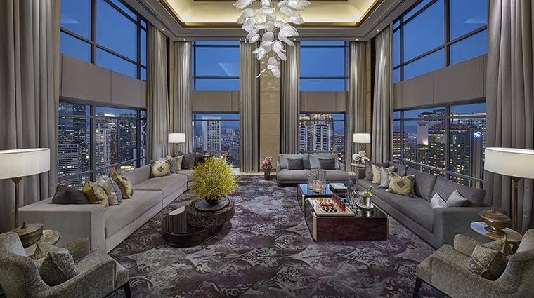 mandarin oriental kuala lumpur presidential suite living room