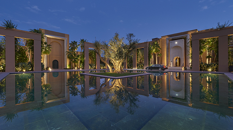 mandarin oriental marrakech entry