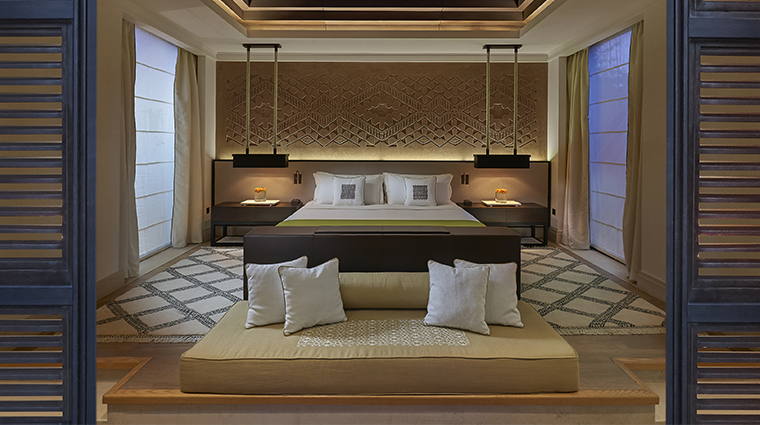 mandarin oriental marrakech pool bedroom