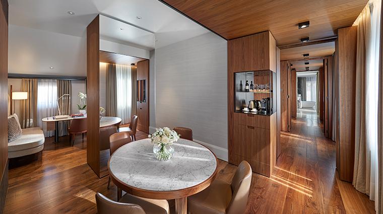 mandarin oriental milan  deluxe suite new