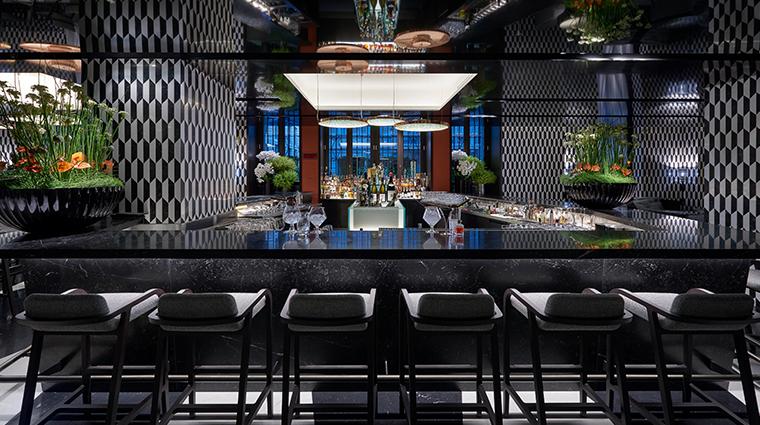 mandarin oriental milan Mandarin Bar counter