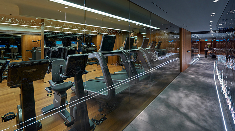 mandarin oriental milan fitness center