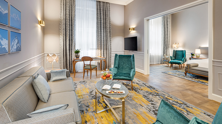 mandarin oriental munich updated executive suite living room
