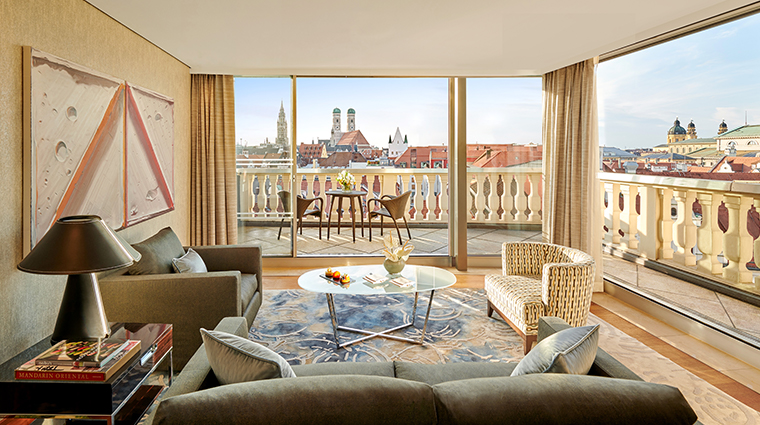 mandarin oriental munich updated panoramic suite living room