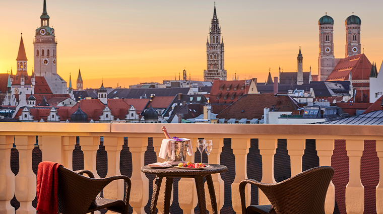 mandarin oriental munich updated presidential terrace