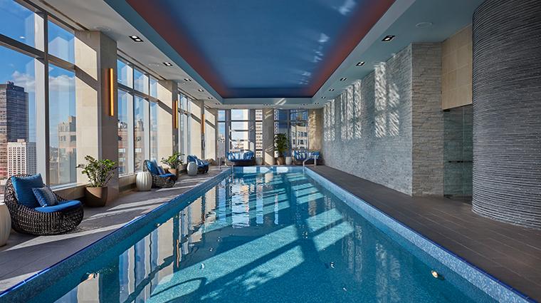 mandarin oriental new york pool
