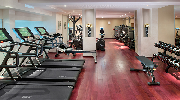 mandarin oriental paris fitness center
