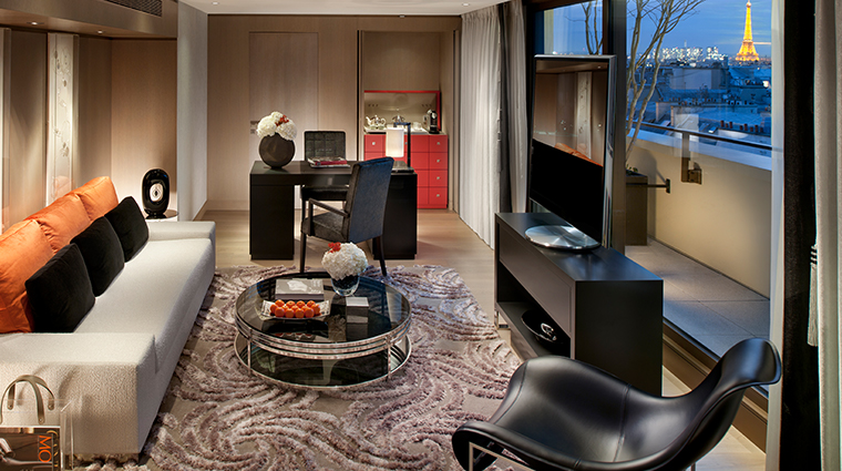 mandarin oriental paris panoramic suite
