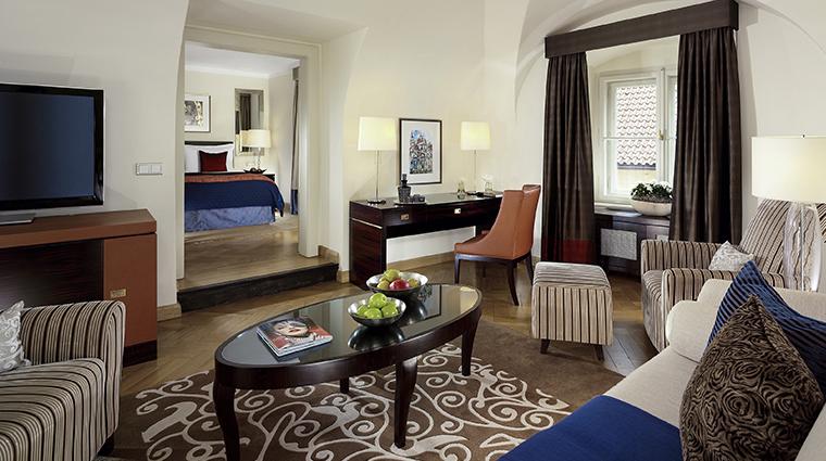 mandarin oriental prague deluxe suite living room