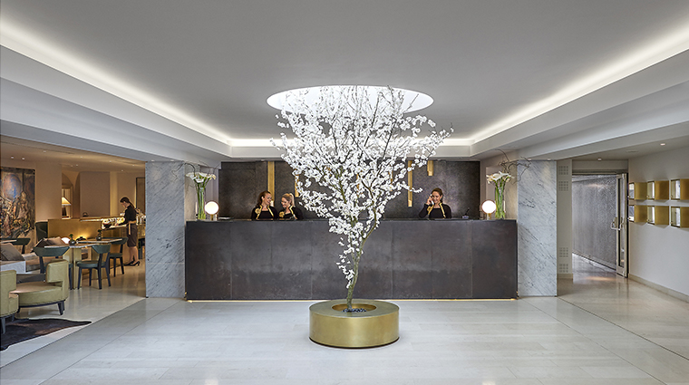 mandarin oriental prague reception