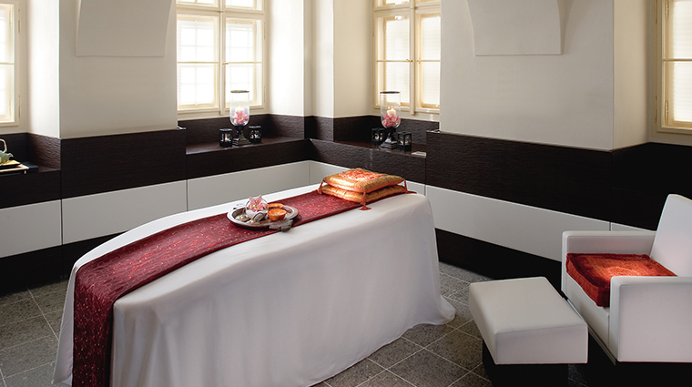 mandarin oriental prague spa treatment room