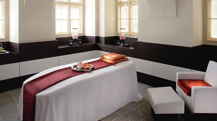 mandarin oriental prague spa treatment room