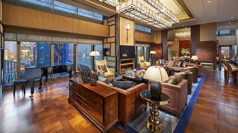 mandarin oriental pudong shanghai presidential suite living room