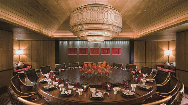 mandarin oriental sanya YiYang private dinner