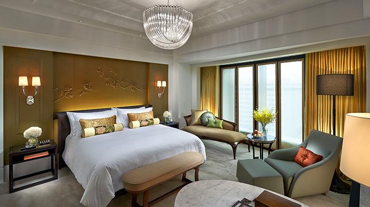 mandarin oriental taipei deluxe king bedroom