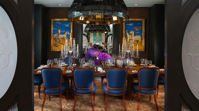 mandarin oriental taipei presidential suite dining