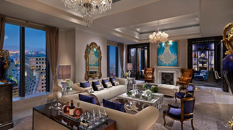mandarin oriental taipei presidential suite living room