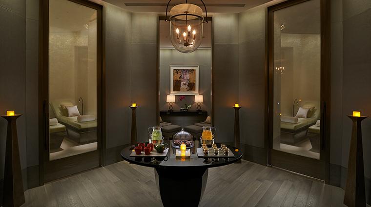 mandarin oriental taipei spa tea lounge
