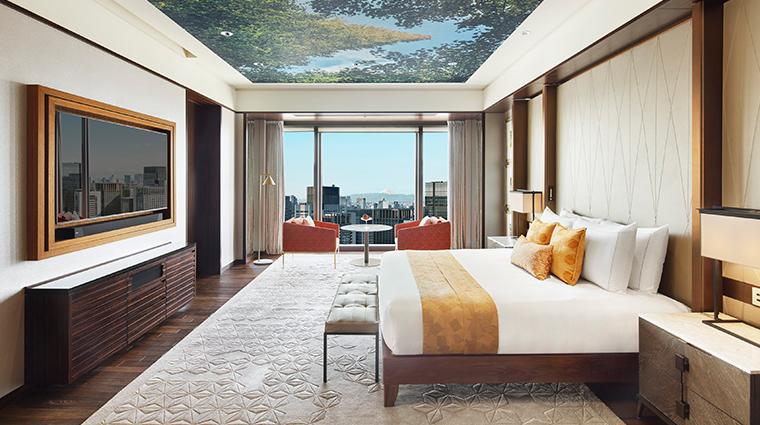 mandarin oriental tokyo presidential suite bedroom