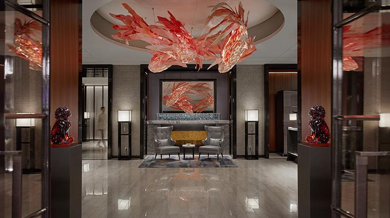 mandarin oriental wangfujing beijing lobby