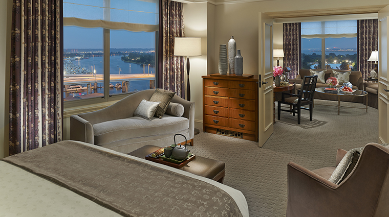 mandarin oriental washington dc diplomatic suite