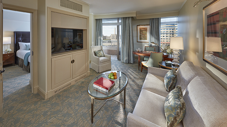 mandarin oriental washington dc executive city view living room
