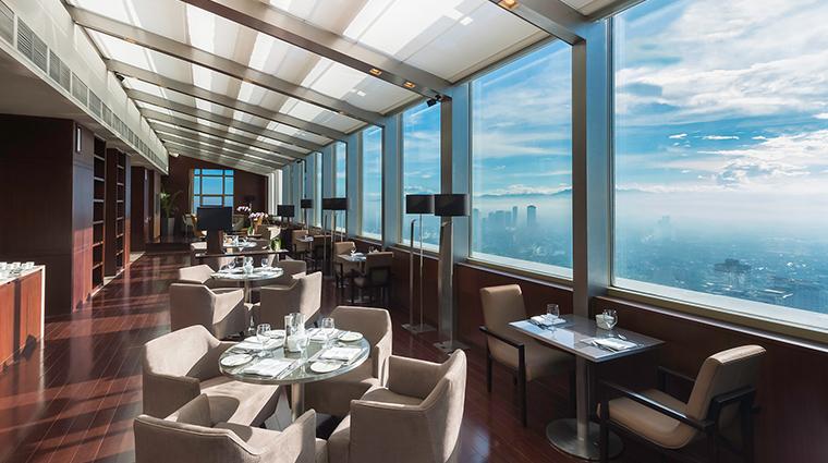 marco polo ortigas manila Continential Club Lounge