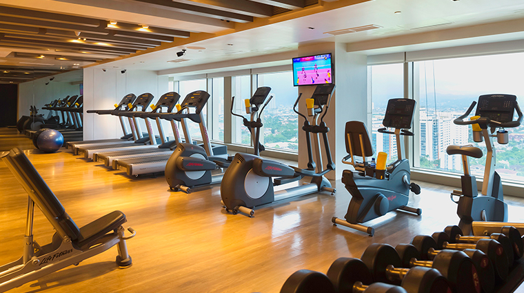 marco polo ortigas manila Flow Spa fitness