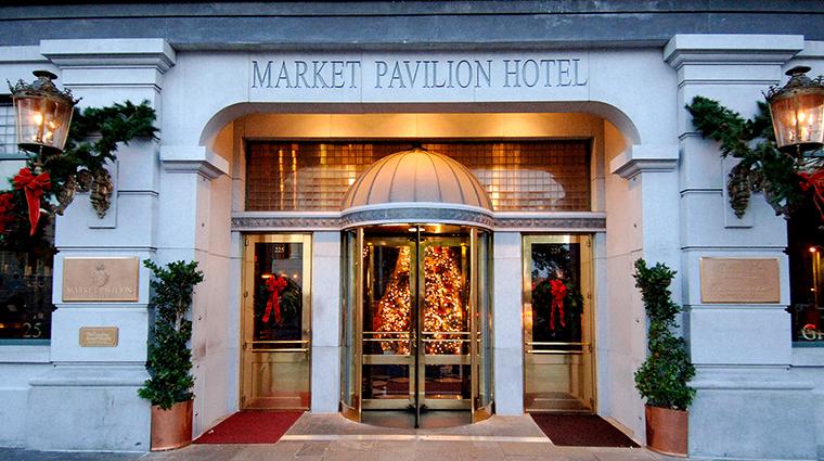 Market Pavilion Hotel front door