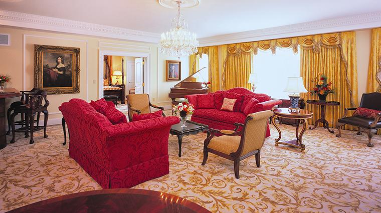 Market Pavilion Hotel presidential suite
