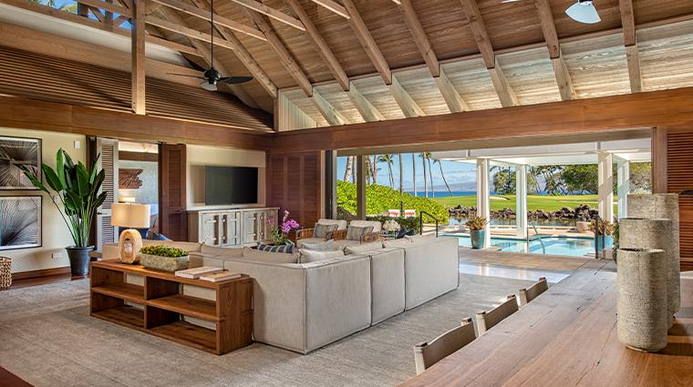 mauna lani auberge resorts collection bungalow living room