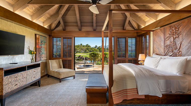 mauna lani auberge resorts collection bungalow master