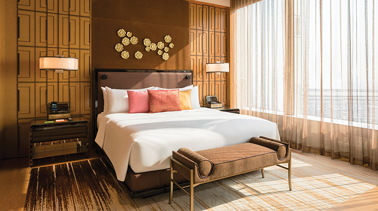 mgm cotai resort suite bedroom