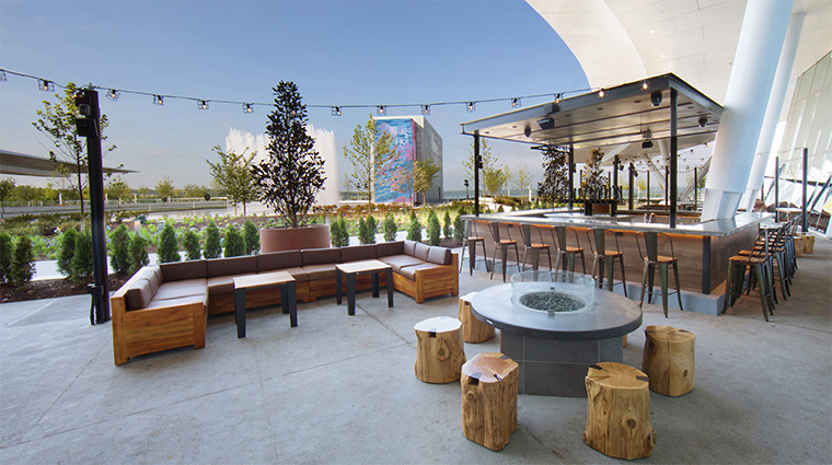 mgm national harbor TAP patio