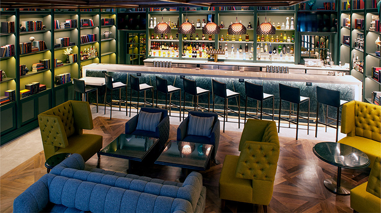 mgm national harbor Voltaggio Brothers Library Bar